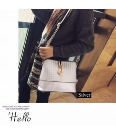 Women Synthetic Leather Shoulder Small Bag