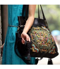 Chinese style Embroidery Shoulder Bags