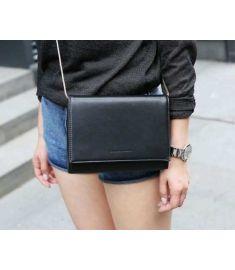 Embossed Letter Women's Handbag