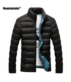 Winter Jackets Parka Men Autumn Winter Warm Outwear Brand Slim Mens Coats