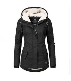 Women Winter Jacket Coat Cotton Windproof Slim Outerwear Fashion