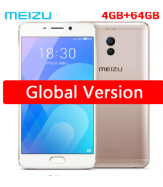 "Original Meizu M6 Note 4GB RAM Global firmware 625 Octa Core 5.5"" FHD Cell Phone Fingerprint GPS wifi big battery global version"