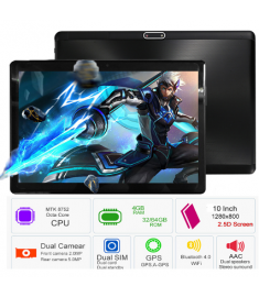 2018 New Google Play Android 7.0 OS 10 inch tablet Octa Core 4GB RAM 64GB ROM 1280*800 IPS 2.5D Glass Kids Tablets