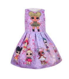 Baby Dresses 3-9Y Summer Cute Elegant Dress Kids Party Christmas Costumes
