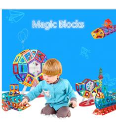 Standard Size Magnetic Designer Construction Set Model & Building Toy Brick