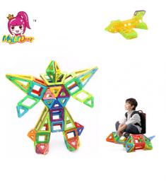 Mini size Magnetic Building Blocks Construction Magnetic Designer Toys