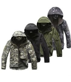 Lurker Shark Skin Softshell V5 Military Tactical Jacket Men Waterproof Coat