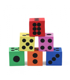 Mini Soft Foam Dot Maths Dice Baby Toys Learning Resources