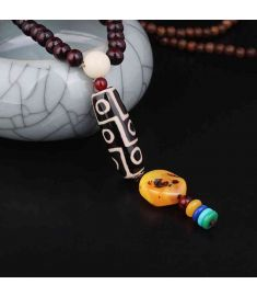 Chinese wind agent pattern ethnic necklace jewelry ,nature Day beads pendants,ethnic jewelry vintage necklace pendants