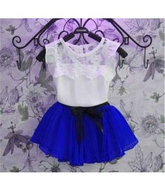 2017 Summer baby Girl Dress Kids Princess Party Dresses For Girls lace Birthday Clothes Children's clothing vestidos infantis