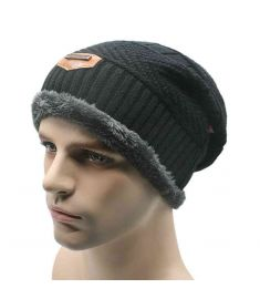 Unisex Womens Mens S Camping Hat Winter Beanie Baggy Warm Wool Ski Cap Hot