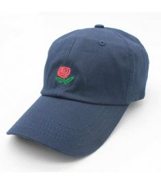 New Rose Dad Hat Drake Sanpback Flower summer Embroidery Curved Summer Snapback Baseball Caps women men Trapback Hip Hop Hat