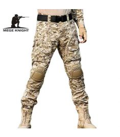 MEGE Rapid Assault multicam pants with knee pads, Camouflage tactical military clothing