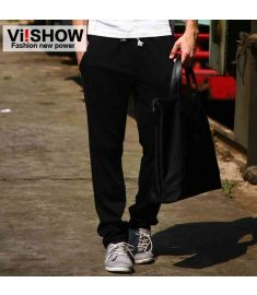 New brand cotton trousers men casual pants