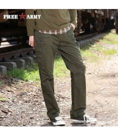 Winter Patterned Pants Tactical Army Military Cargo Pants