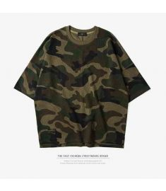 INF Men T shirt Summer 2017 Latest t shirts Oversize Men Cotton camouflage t shirt Men Hip Hop Tees Top Men's Fashion t shirts
