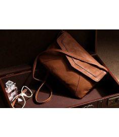 Women's Leather Envelope Shoulder Bags