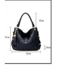 Genuine Leather Bag Classic Cowhide