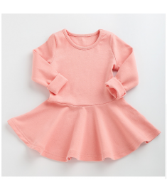 Girls Dress princess Autumn Kids Dresses for Baby Girls clothes Long Petal Sleevel