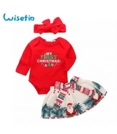 Wisefin Baby Boy Clothes Full With Headband Newborn