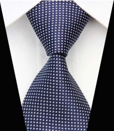 Silk Neck tie Business Casual Knit Mens Ties Design 8