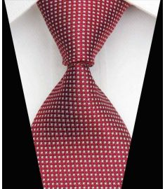 Silk Neck tie Business Casual Knit Mens Ties Design 10