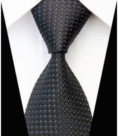 Silk Neck tie Business Casual Knit Mens Ties Design 15