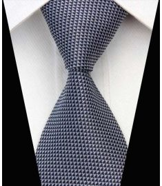 Silk Neck tie Business Casual Knit Mens Ties Design 20