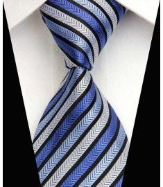 Man's Silk Polyester Tie Option 15