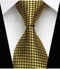 Elegant Silk Polyester Man Business Wedding  Tie Option 7