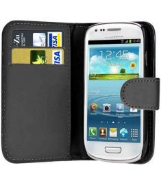 PU Leather Wallet Magnetic Closure Case Cover For Samsung Galaxy S3 MINI I8190
