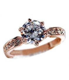 Anel CZ Diamond Rings Jewelry 925 sterling silver ring