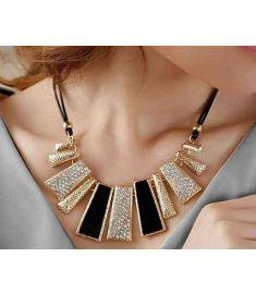 Fine Jewelry Leather Collar Necklaces & Pendants