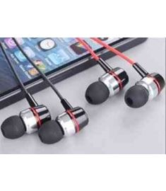 Super Clear Voice Metal Earphone For Mobile Computer MP3