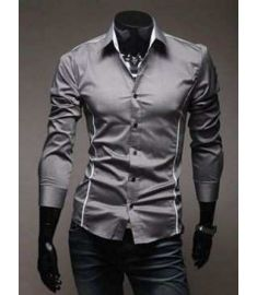 Shirts Casual Slim Fit Stylish Mens Dress Shirts