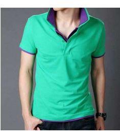 Casual Slim Fit Stylish Short-Sleeve Shirt Cotton T-shirt Size:M-XXL