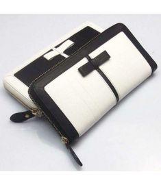 Standard Black and White Large Zipper