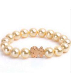 Pearl Love Bear bracelet