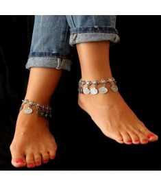 Bohemian Women Clain Coin Bracelets