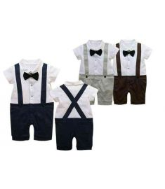 Cotton Baby Romper Clothes For 0-2 Year Old Boy