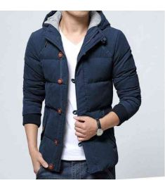 Men Winter Coat Hooded