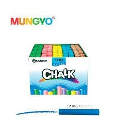 COLOR CHALK 100PCS