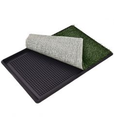 "30"" x 20"" Pet Pot Training Toilet Grass Mat"
