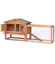 Wooden Rabbit Chicken Coop Poult Cage