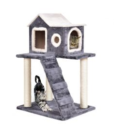 "36"" Tower Condo Scratching Posts Ladder Cat Tree"