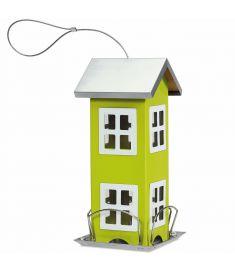 Outdoor Gardenard  Wild Bird Feeder Weatherproof House-Green