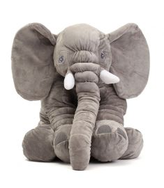"23.5 60cm Cute Jumbo Elephant Plush Doll Stuffed Animal Soft Kids Toy Gift"""