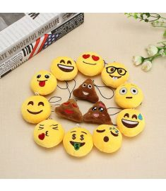 13PCS 5.5CM Emotion Pendant Cute Fun Phone Pendant Home Decoration