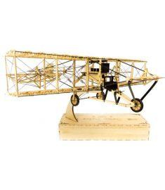 Curtiss Pusher 550mm Wingspan Balsa Wood Airplane Handicrafts Decoration KIT Unassembled