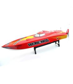 26I PE 2.4G 118cm FRP 15kg Servo 30C C Motor Waterproof Oil Electric Power RC Boat High Speed 85Km/h